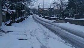 Piano neve riunione alla Rocca dei Rettori.