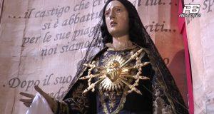 Cervinara. Processione del Venerdi di Passione in onore della Madonna Addolorata.
