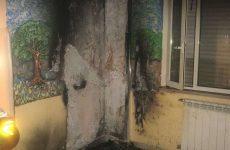 Nella notte incendio nel reparto psichiatria del Rummo