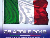 25 Aprile 2018, 73°anniversario della Liberazione