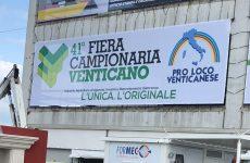 E' tutto pronto a Venticano per l'inaugurazione della 41° edizione della Fiera Campionaria.