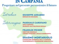 Politiche sociali in Campania, a Molinara l'incontro promosso dal Consigliere Mortaruolo