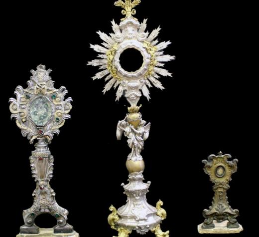 Recuperati 38 beni ecclesiastici rubati da chiese della provincia di Avellino.
