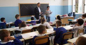 San Giorgio del Sannio. Pagelle incomplete a alunni scuola elementare.