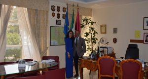 Il Questore di Benevento incontra il Console della Repubblica di Tunisia.