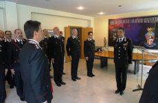 """Il comandante della Legione Carabinieri """"Campania"""" di Napoli in visita a Benevento."""