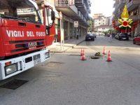Surriscaldamento cavi elettrici intervengono i Vigili del Fuoco