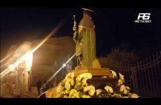 Cervinara. Processione in onore di San Rocco.