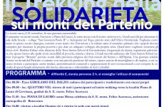 """San Martino V.C.. """"Trekking della solidarietà 2018""""."""