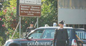 Carabinieri salvano bimbo di sei mesi coinvolto in un grave incidente stradale