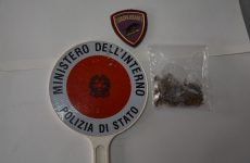 Giovane beneventano sottoposto a controllo trovato in possesso di quattro grammi di marijuana.