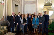 Incontro presso la Prefettura di Avellino tra i vertici delle Forze di Polizia e i Dirigenti scolastici.