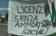 Montesarchio: solidarietà di studenti e cittadini agli operai della Moccia.