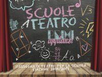 """Presentazione della rassegna di teatro per la scuola: """"Primi applausi""""."""