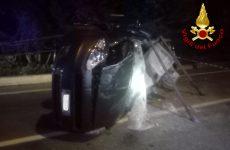 Tre veicoli coinvolti in un incidente stradale