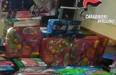 Avellino.  Iniziano i preparativi di Natale e con essi il mercato delle contraffazioni.
