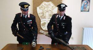 Nascondeva ordigno esplosivo e armi, arrestato un 67 enne di Moiano.