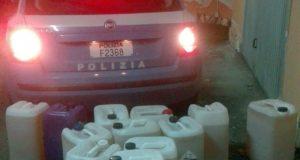 Rubava gasolio dai veicoli trasportati, denunciato