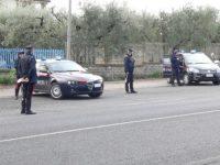 Controlli dei carabinieri del comando provinciale di Benevento.