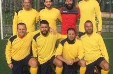 La squadra dell'Enel Benevento al torneo calcio a 5 colleghi Enel Campania