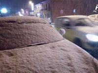 Irpinia/Sannio. Cade la prima neve