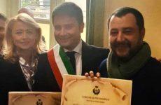 Il sindaco di Puglianello ricevuto dal ministro Salvini.