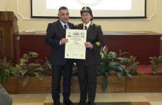 Importante riconoscimento per il Comandante dei Vigili del Fuoco di Avellino, Arch. Rosa D'Eliseo