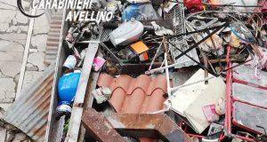 Trasporto e raccolta illecita di materiale ferroso, denunciato.