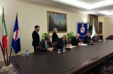 De Luca e Priolo sottoscrivono delega attuazione PICS di Avellino.