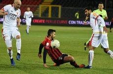 Foggia vs Benevento 1-1.