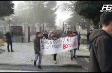 Cervinara. Manifestazione degli Studenti (Servizio Tg Sei)
