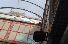 Le forti raffiche di vento danneggiano copertura sala del Museo del Sannio