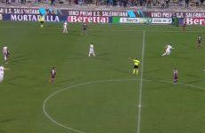 Il Benevento batte la Salernitana grazie ad una papera di Micai.