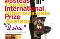 """Premio internazionale """"Assteas"""" in gara le aziende vitivinicole."""