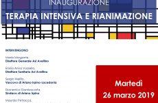 """Inaugurazione della Terapia Intensiva e Rianimazione presso il P.O. """"Sant'Ottone Frangipane"""""""
