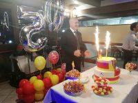 Buon compleanno maresciallo Dello Iacovo.
