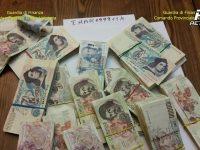 Guardia di Finanza di Napoli. Riciclaggio in Euro di oltre 1 miliardo di vecchie lire.