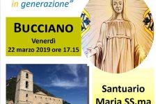"""Peregrinatio Mariae"" venerdì 22 marzo a Bucciano"