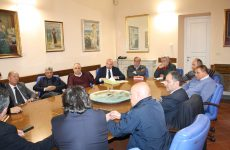 Riunione alla Rocca dei Rettori in merito alla gestione del ciclo dei rifiuti nel Sannio