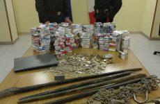 Sulla Telesina recuperata dai carabinieri la refurtiva di un furto in una tabaccheria