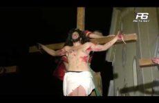 Cervinara. Si avvicina il Venerdi Santo e si provano scene Via Crucis Vivente.