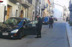 Carabinieri sventano colpo al bancomat di Baselice.