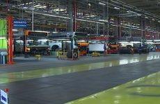 Ex Irisbus, piove nello stabilimento e scatta la cassa integrazione.