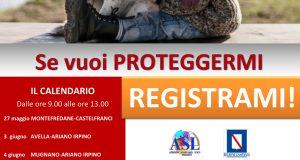 ASL AV. Campagna per l'inserimento gratuito del microchip per cani e gatti