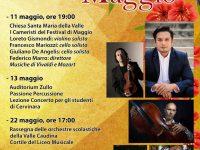 Cervinara. Oggi terzo appuntamento del Festival di Maggio.