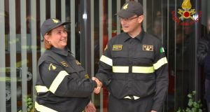Cambio di guardia al Comando dei Vigili del Fuoco di Avellino.