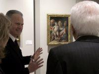 Vaso di Assteas. Il Presidente della Repubblica inaugura la mostra: L'arte di salvare l'Arte. Tg Sei